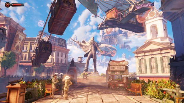 Columbia, one of the most gorgeous, inspired and socially critical settings ever realised in a video game.