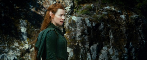 Evangeline Lilly. Whether she's an elf or a fugitive, girl just can't resist a body count and an awkward love triangle.